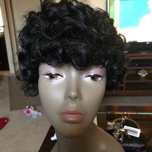 Other - Harlem 125 Wig Curly Black Short for summer